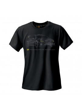 "OMP ""RALLY"" T-SHIRT BLACK"